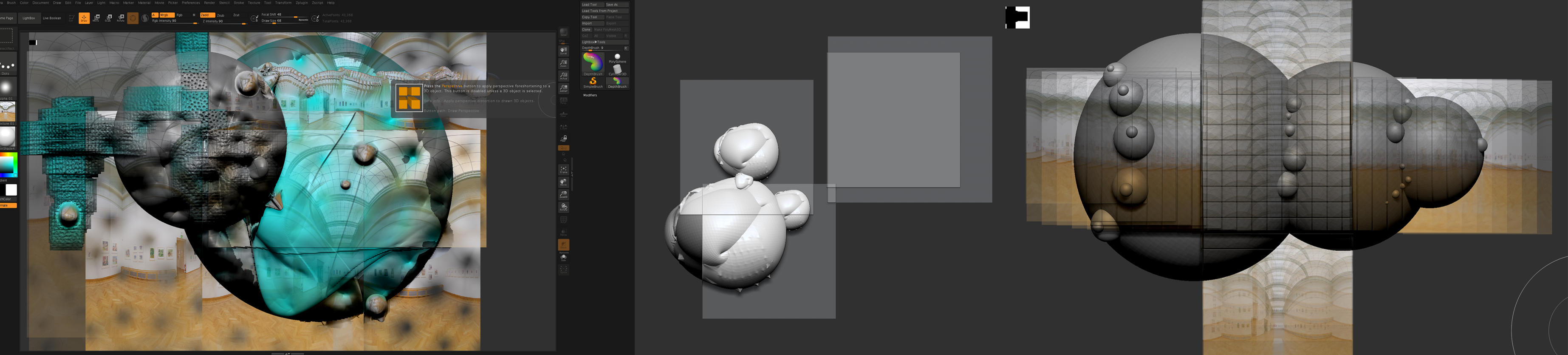 ZBrush for web